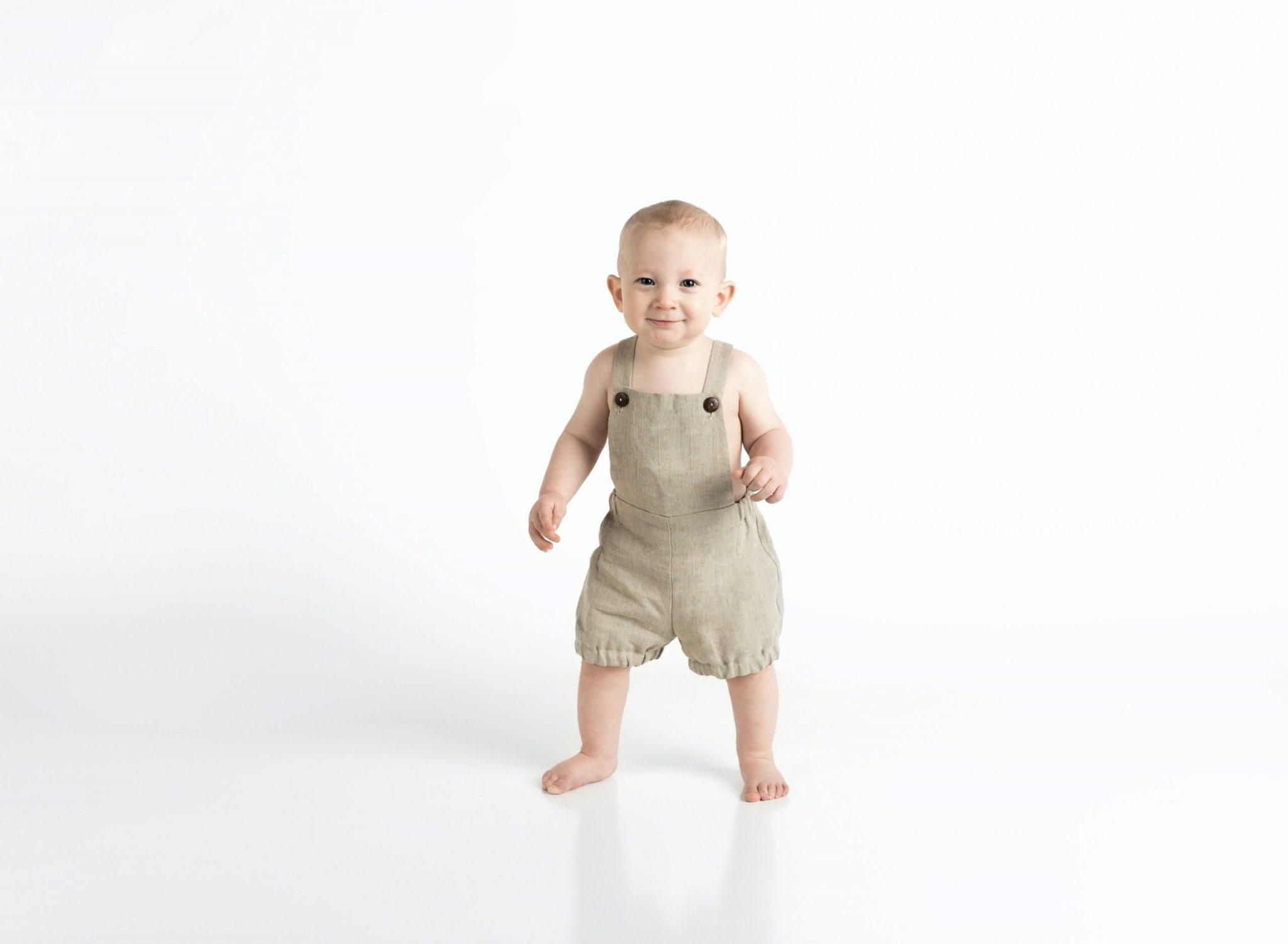 toddler taking steps